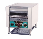 Toastmaster TC21D 240 Horizontal Conveyor Toaster, Stainless, 900-Slices/Hr, 240/1 V