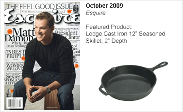 Lodge Cast Iron 12 Seasoned Skillet