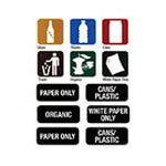 Biohazard & Recycle Stickers