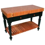 John Boos Decorator Butcher Block Tables & Islands - Residential