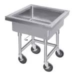 Silver Soak Sink