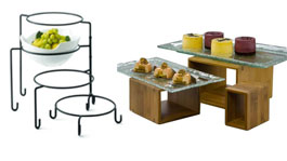 Buffet Stand and Riser