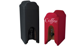 Snap Drape Beverage Dispenser Cover