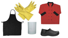Gloves, Aprons, & Towels