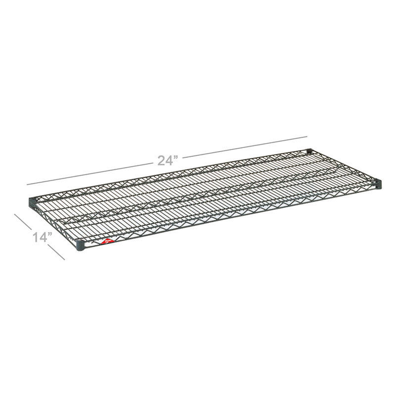 Metro 1424NC Chrome Wire Shelf - 14x24""