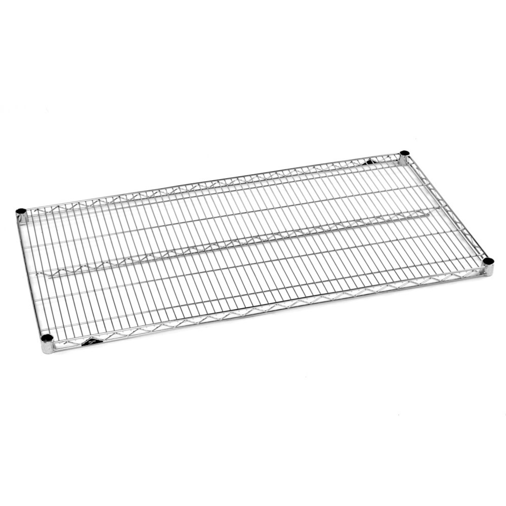 "Metro 1836BR Super Erecta® Brite Zinc Wire Shelf - 36"" x 18"""