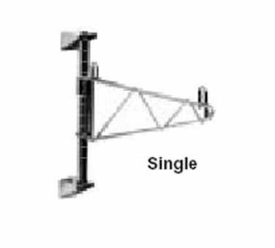 "Metro 1WS14C Super Erecta Chrome Shelf Support for 14"" Shelf"