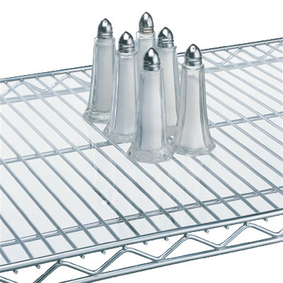 "Metro 2448CI Shelf Inlay, 24x48"", Plastic, Clear"