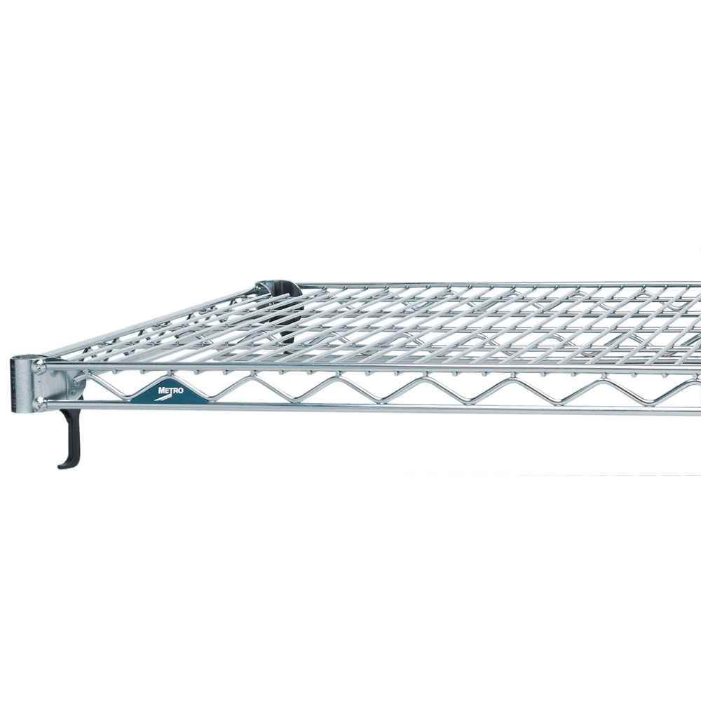 "Metro A2148NC Super Erecta® Chrome Wire Shelf - 48"" x 21"""