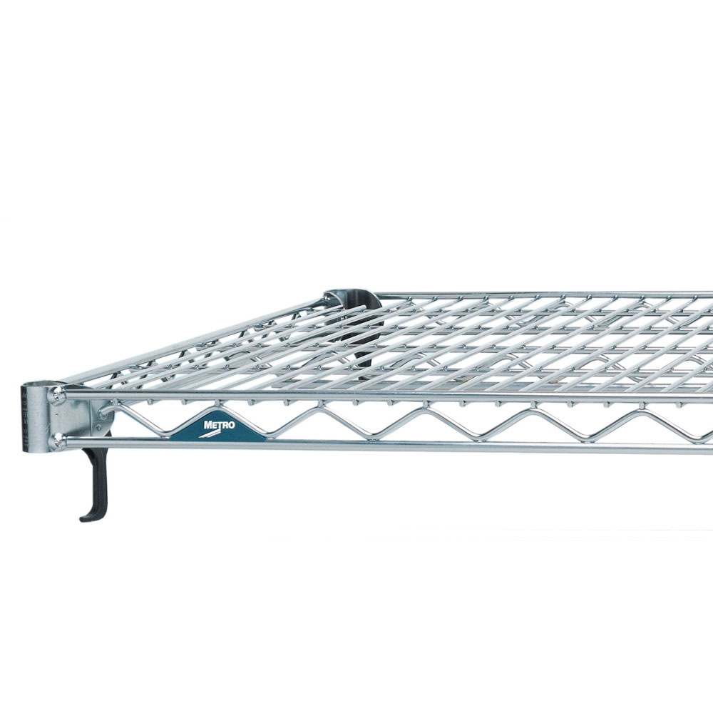 """Metro A2148NS Super Erecta® Stainless Steel Wire Shelf - 48"""" x 21"""""""