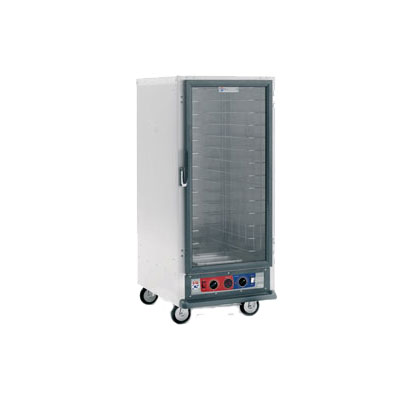Metro C517-HFC-U 3/4-Height Mobile Heated Cabinet w/ (14) Pan Capacity, 120v