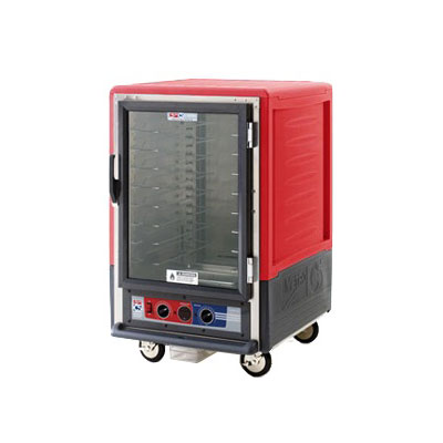 Metro C535-CFS-U 1/2-Height Mobile Heated Cabinet w/ (8) Pan Capacity, 120v