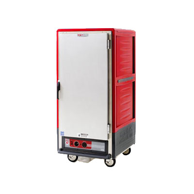 Metro C537-HFS-U 3/4-Height Mobile Heated Cabinet w/ (14) Pan Capacity, 120v