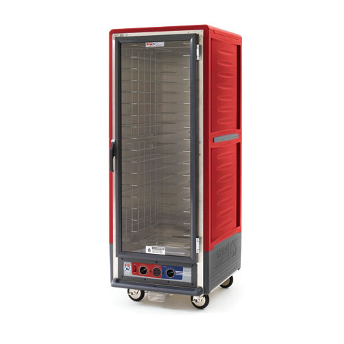 Metro C539CFC4 C5 Full Height Heated Proof & Hold Cabinet, Insulated, Clear Door, Fixed Wire