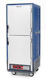 Metro C539-HDS-U-BU Mobile Heated Holding Cabinet w/ 34-Pan Capacity, Full Height