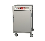 Metro C565-NFS-LPFS C5 1/2-Height Pass Thru Heated Holding Cabinet, Aluminum, Solid Doors, Lip Load