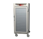 Metro C567-NFC-L C5 3/4-Height Heated Holding Cabinet, Aluminum, Clear Door, Lip Load Slide