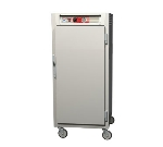 Metro C567-NFS-U C5 3/4-Height Heated Holding Cabinet, Aluminum, Solid Door, Universal Slide