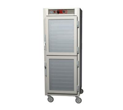 Metro C569LNDCUPDC C5 6 Series Heated Holding Cabinet, Full H, Pass Thru, Univ Slides, Glass Drs