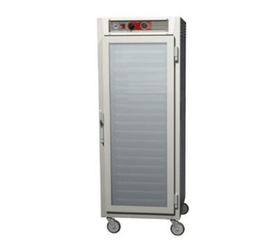 Metro C569LSFCU C5 6 Series Heated Holding Cabinet, Full H, Universal Slides, Glass Doors