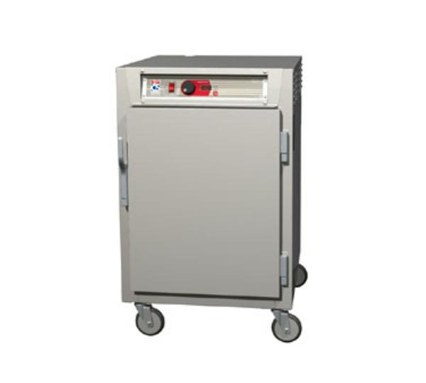 Metro C585-NFS-L C5 1/2-Height Control Temp Holding Cabinet, Aluminum, Solid Door, Lip Load