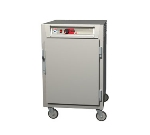 Metro C585-NFS-UPFS C5 1/2-Height Pass Thru Control Temp Cabinet, Aluminum, Solid Doors, Universal