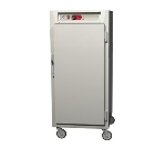 Metro C587-NFS-L C5 3/4-Height Control Temp Holding Cabinet, Aluminum, Solid Door, Lip Load