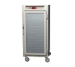 Metro C587-SFC-L C5 3/4-Height Control Temp Holding Cabinet, Stainless, Clear Door,