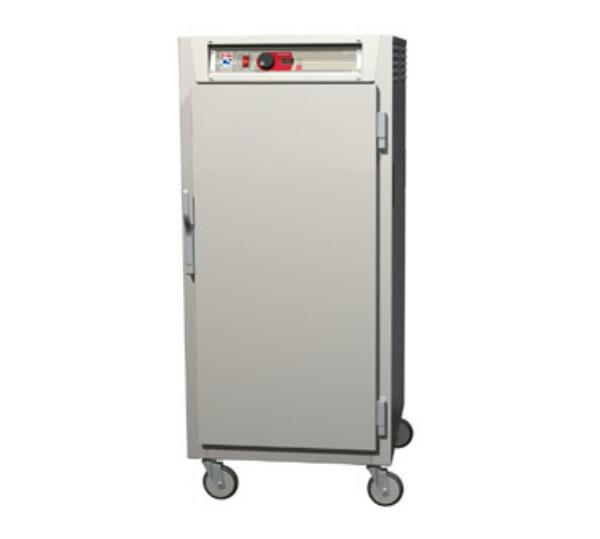 Metro C587-SFS-U 3/4-Height Mobile Heated Cabinet w/ (13) Pan Capacity, 120v