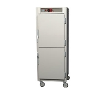 Metro C589-NDS-LPDC C5 Full Height Pass Thru Control Temp, Aluminum, Solid/Clear Dutch, Lip Load