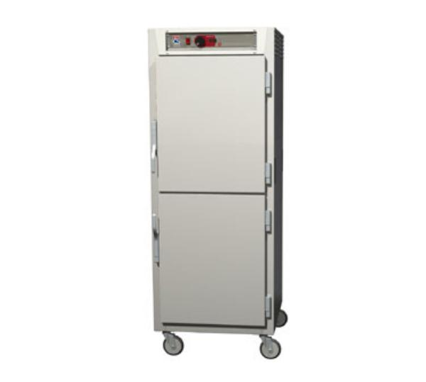 Metro C589-NDS-UPDS C5 Full Height Pass Thru Control Temp Cabinet, Aluminum, Solid Dutch, Universal