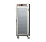 Metro C589-NFC-U C5 Full Height Control Temp Holding Cabinet, Aluminum, Clear Door, Universal