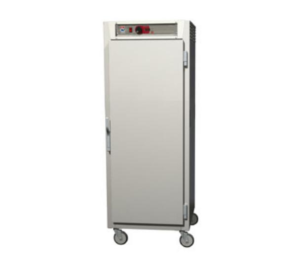 Metro C589-NFS-UPFS C5 Full Height Pass Thru Control Temp Cabinet, Aluminum, Solid Doors, Universal