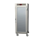 Metro C589-SFC-UPFC C5 Full Height Pass Thru Control Temp Cabinet, Stainless, Clear Doors, Universal