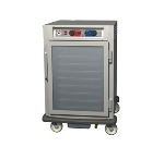 Metro C595-NFC-LPFC 1/2-Height Mobile Heated Cabinet w/ (17) Pan Capacity, 120v