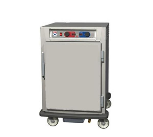 Metro C595-SFS-L 1/2-Height Mobile Heated Cabinet w/ (17) Pan Capacity, 120v