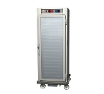 Metro C599-NFC-U C5 Full Height Control Temp/Humid, Aluminum, Clear Door, Universal Slides