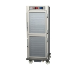 Metro C599-SDC-U C5 Full Height Control Temp/Humidity, Stainless, Clear Dutch, Universal Slides
