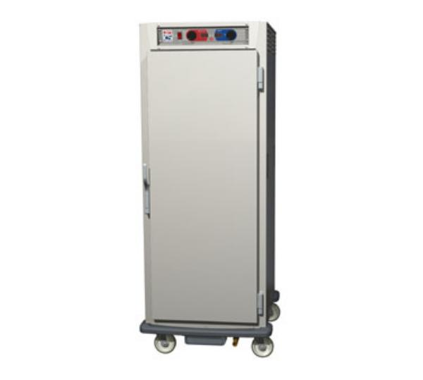 Metro C599-SFS-UPFC C5 Full Height Pass Thru Control Temp/Humid, Stainless, Solid/Clear, Universal