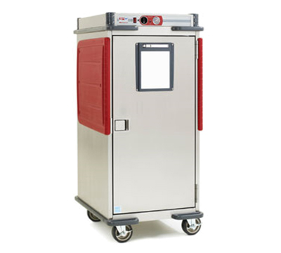 Metro C5T8-ASB Heavy Duty Mobile Heated Cabinet w/ Analog Controller & Adjustable Bottom