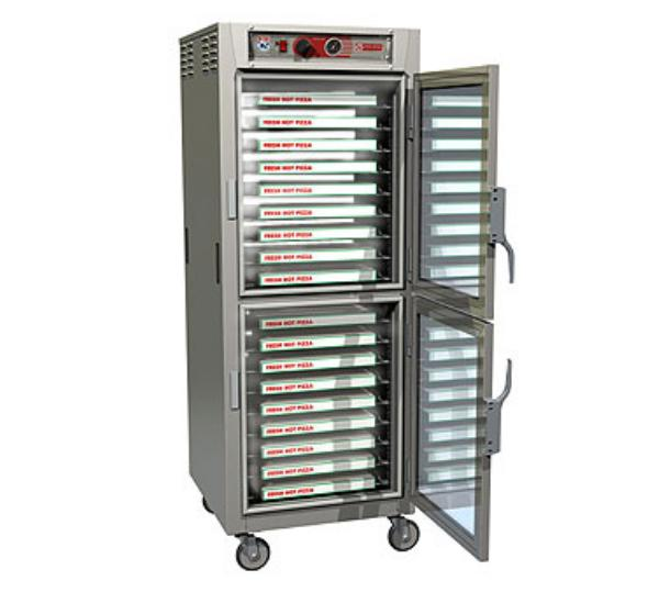 Metro C5Z6-9ND-CUPDC C5 Pizza Series Heated Holding Cabinet, Full H, Pass Thru, Clr Dutch Drs