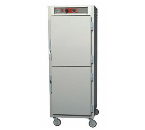 Metro C5Z6-9ND-SU C5 Series Heated Pizza Holding Cabinet, Full Height, Uni Slides, Solid Dutch Drs
