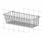 "Metro H212C Smartwall G3 Storage Basket, 17-3/8 x 7.5 x 10"", Chrome"