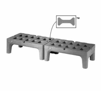 """Metro HP2236PDMB Polymer Bow Tie Dunnage Rack, 22 x 36 x 12"""" H"""