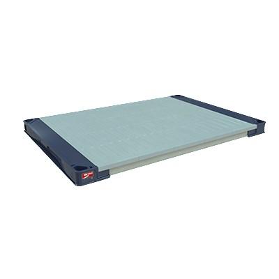 "Metro MAX4-2448F MetroMax 4™ Polymer Solid Shelf - 48"" x 24"""