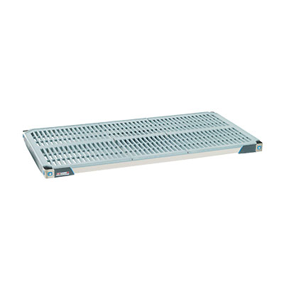 "Metro MX1842G Polymer Louvered Shelf - 42""L x 18""W"