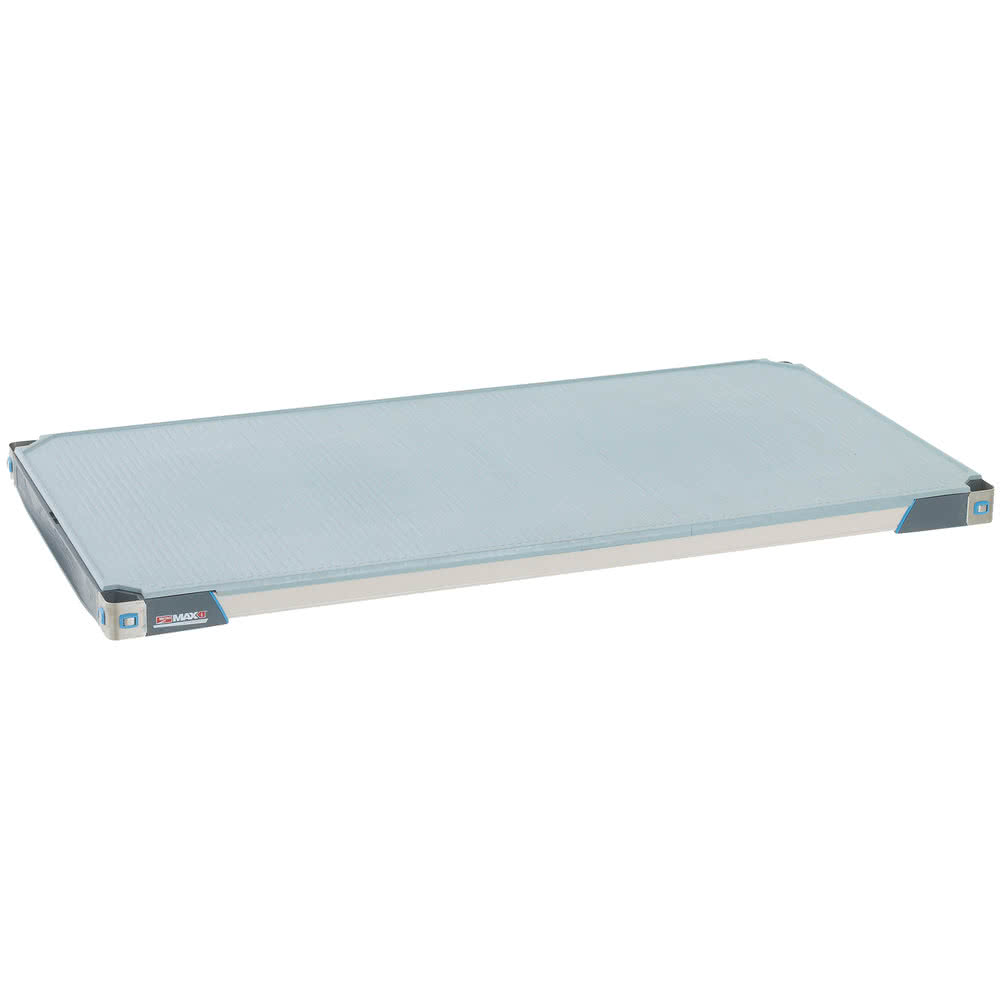 "Metro MX2448F MetroMax i® Polymer Solid Shelf - 48"" x 24"""