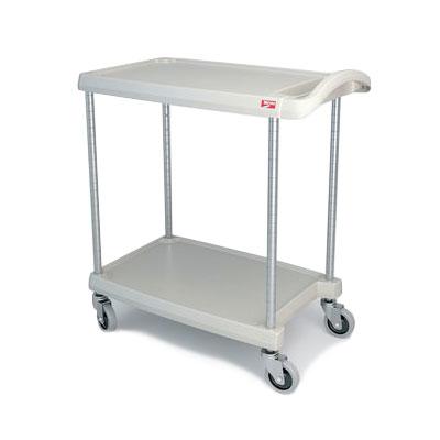 Metro MY1627-24G 2-Level Polymer Utility Cart w/ 300-lb Capacity, Marine Ledges