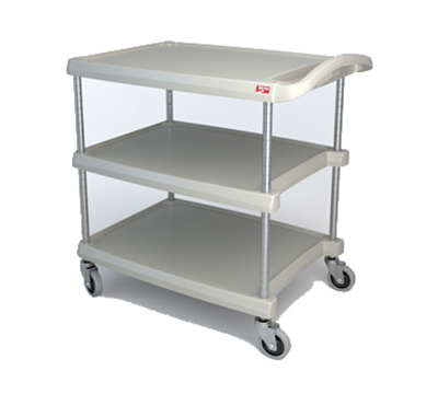 Metro MY2030-34G 2-Level Polymer Utility Cart w/ 300-lb Capacity, Marine Ledges