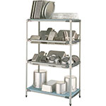 Metro PR48X3 4-Level Stationary Drying Rack for Trays